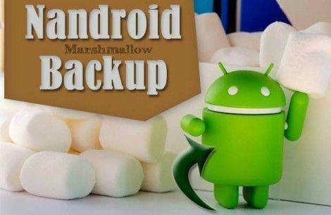 Nandroid Backup en Android Marshmallow