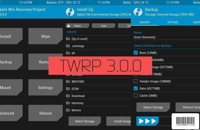 twrp 3.0 recovery