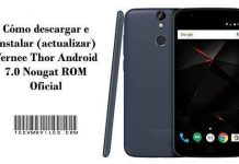instalar (actualizar) Vernee Thor Android 7.0 Nougat ROM Oficial